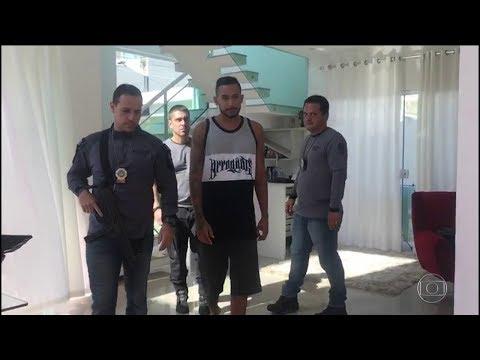 Preso MC Tikão suspeito de ajudar na fuga de Rogério 157 da Rocinha - REPORTAGEM COMPLETA 20/10/2017