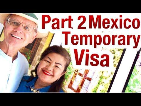 Visa: I Want To LIVE In México Do I Need A Temporary Visa ?