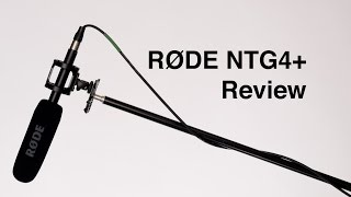 RODE NTG4+ Shotgun Microphone Review