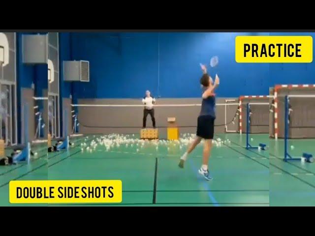 Badminton Practice session #Shorts