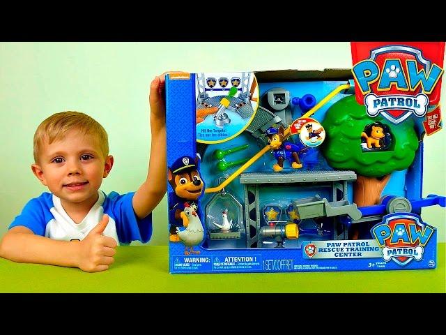 Щенячий Патруль и тренировочная база - Обзоры игрушек. Paw Patrol Rescue Training Center Playset
