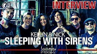 SLEEPING WITH SIRENS - Kellin & Nick videointerview @Linea Rock 2017 by Barbara Caserta
