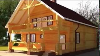 Будинок з правильної уральської сосни. Етапи будівництва