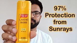Lakme Sun Expert SPF 24 PA Fairness UV Sunscreen Lotion Review | Prevents Tanning, Moisturizes Skin