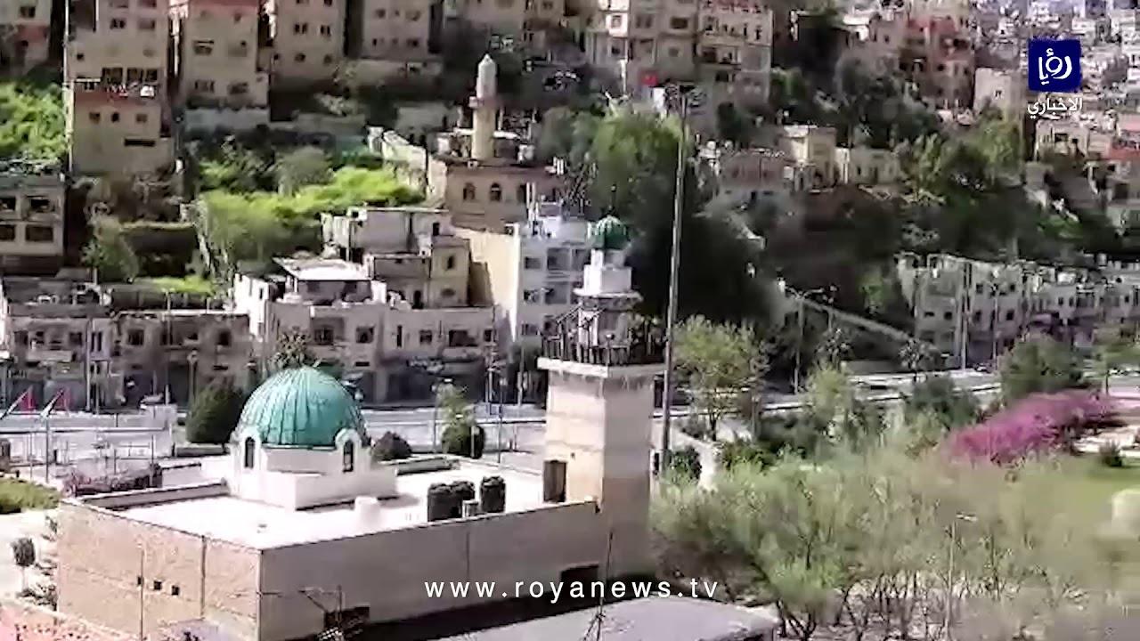 هذه أجواء وسط البلد في عمّان خلال حظر التجوّل الشامل