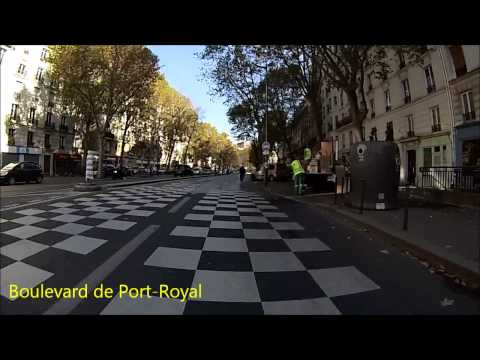 Cycling in Paris - Invalides - Gare de Lyon (Itinéraire officiel 8)