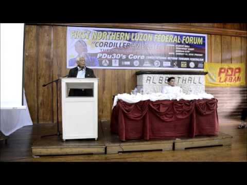 First Northern Luzon Federal Forum