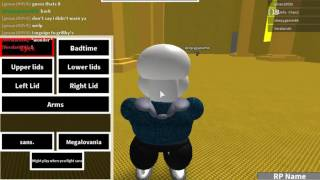 Roblox | Cringey Sans Battle RP + Bloopers And Ultra Sans W/ RB