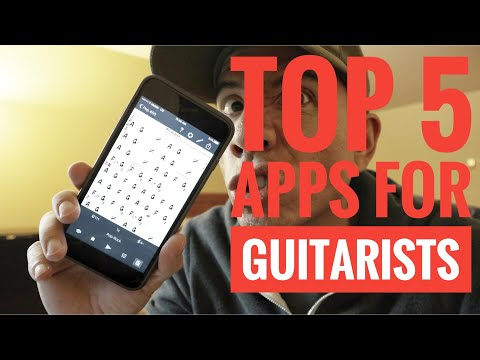 Top 5 apps for GUITARISTS 2017 - Guitar Vlog - How To - Tutorial