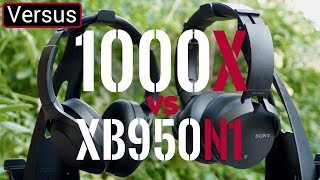Sony XB950N1 Vs Sony 1000X - They're The Same, But Very Different
