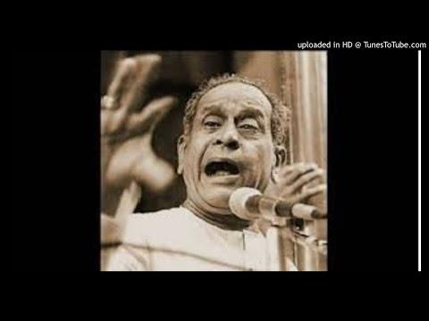 Pandit BhimsenJoshi-Jaunpuri-pAyalKiJhankarMalaniya-sadarang- Hindustani Music