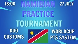 Namibian Fortnite Tournament || Duo Customs || FREE Entry!