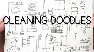 Cleaning Tools Doodles | Doodle with Me