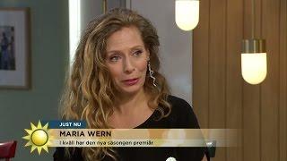 Eva Röse: Maria Wern mår inte bra - Nyhetsmorgon (TV4)