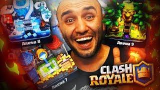 7., 8. Ve 9. Arena İÇİn En İyİ Desteler - Clash Royale