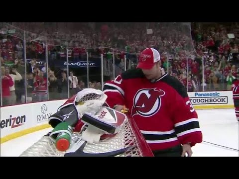 Top 10 Moments Of Martin Brodeur S Career Youtube