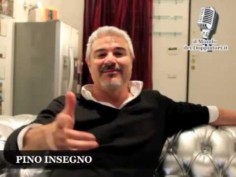 PINO INSEGNO e il DOPPIAGGIO 2012  enciclopediadeldoppiaggio.it