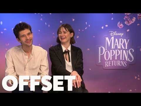 Ben Whishaw and Emily Mortimer reveal their party trick!