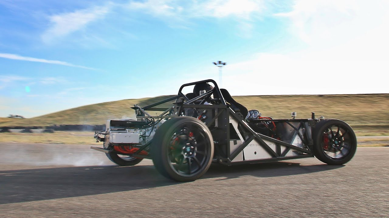 Electric Factory Five 818 Project Track Shakedown Ev West 33 Machine