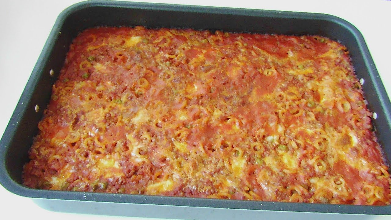 baked italian pasta/ pasta al forno siciliana