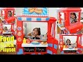 Children's Cooking Playset. Little Tikes 2 in 1 Food Truck and Kitchen Set Unboxing & Playtime Fun!