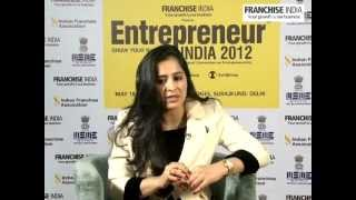 Rajita Chaudhuri of IIPM speaking on