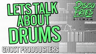 Download Lets Talk About Drums - Disco Fries - GHOST PRODOUCHERS MP3 song and Music Video