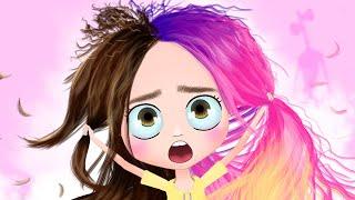 История моих волос 2 анимация NaStik