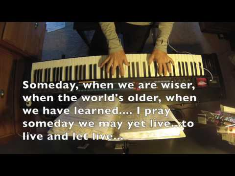 Someday - Musical Edition Hunchback of Notre Dame Piano Karaoke