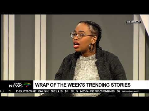 Wrap of the week's trending stories