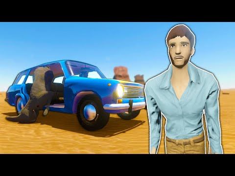 New Player Model \u0026 Getting Stranded in the Desert - The Long Drive Update Gameplay
