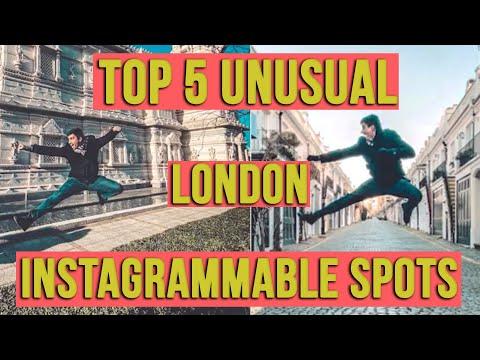 TOP 5 UNUSUAL London Instagram Photo Spots ft @Alps Lifee