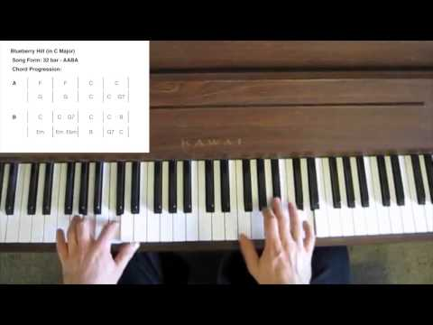 How to Play Blueberry Hill (Boogie Woogie)