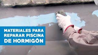 ¿Cómo elegir materiales para reparar piscinas de hormigón?