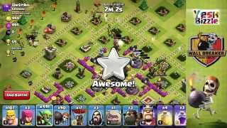 clash of clans New Combo : GOWAB! (troll combo)
