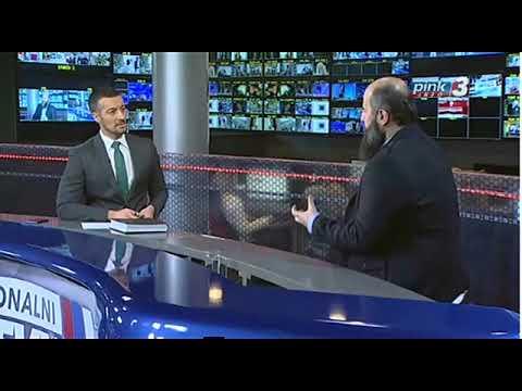 Narodni poslanik Muftija dr. Muamer Zukorlić gost Centralne informativne emisije na TV Pink