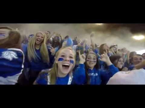 Curtis High School: Football Fan Section 2014-2015