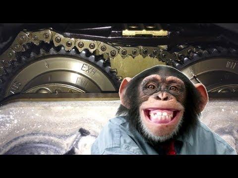 Что будет если ваш мотор соберет обезьяна? M271 Mercedes ГРМ