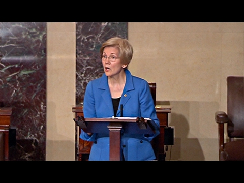 Attempts to Silence Elizabeth Warren Backfire on GOP