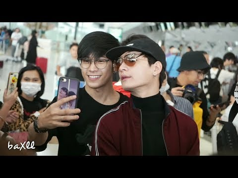 180316 Singto&Krist - Heading to Chengdu @ BKK Airport