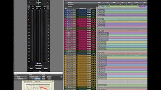 Pro Tools 12.2 Mix Series (2) | Part 2B | Static Mix, VCAs