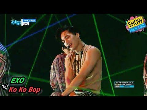 [HOT] EXO - Ko Ko Bop, 엑소 - 코코밥 Show Music Core 20170812