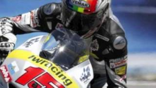 Chef Pronto Service & Alex De Angelis in motogp