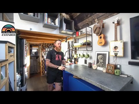 [Extended] - Couple Builds Stunning DIY Tiny Home - Tiny House Expo Award Winning Design