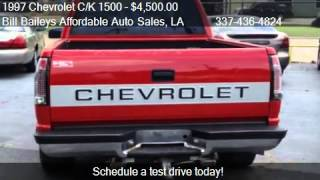 1997 Chevrolet C/K 1500 Ext.  Cab 6.5-ft.  Bed 2WD - for sale