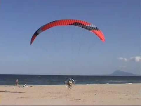 Skydance paramotor tour Spanje 2007
