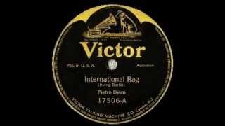 International Rag -- Pietro Deiro (1913)