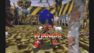 Sonic Adventure 2 DLC - Christmas Theme