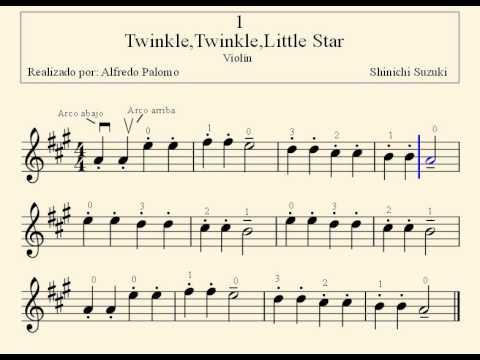 twinkle twinkle little star piano sheet pdf