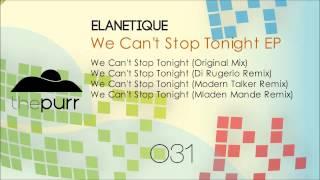 Elanetique - We Can